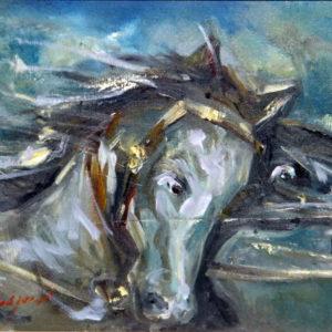 Horses (30x40)