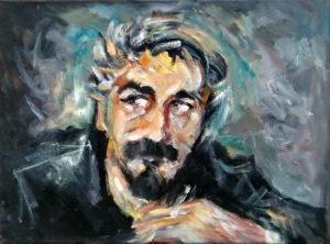 self-portrait-30x40-goran-gataric-oil-on-canvas