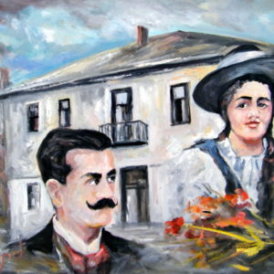 Jovan Dučić and His Magda (60x80)